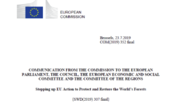 Copernicus REDD+ Service Component officially mentioned by European Commission
