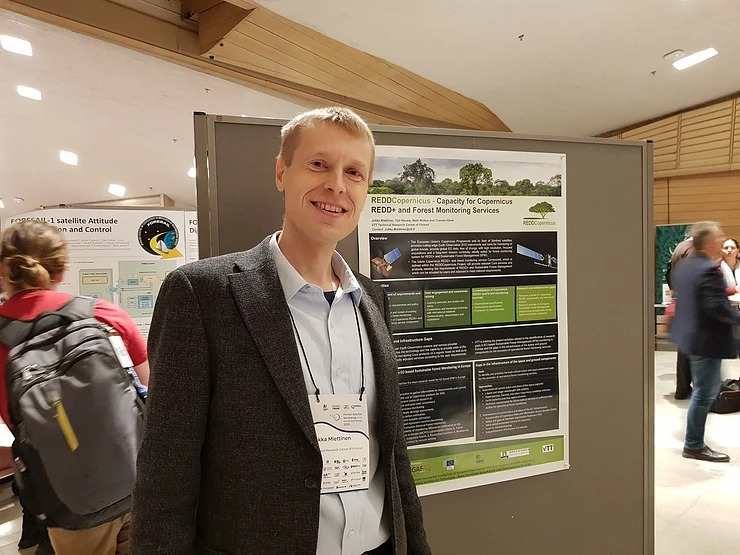 Read more about the article REDDCopernicus up North at the Finnish Satellite Workshop 2020